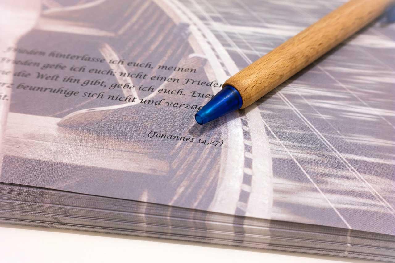 Beileidschreiben - Muster für den Aufbau