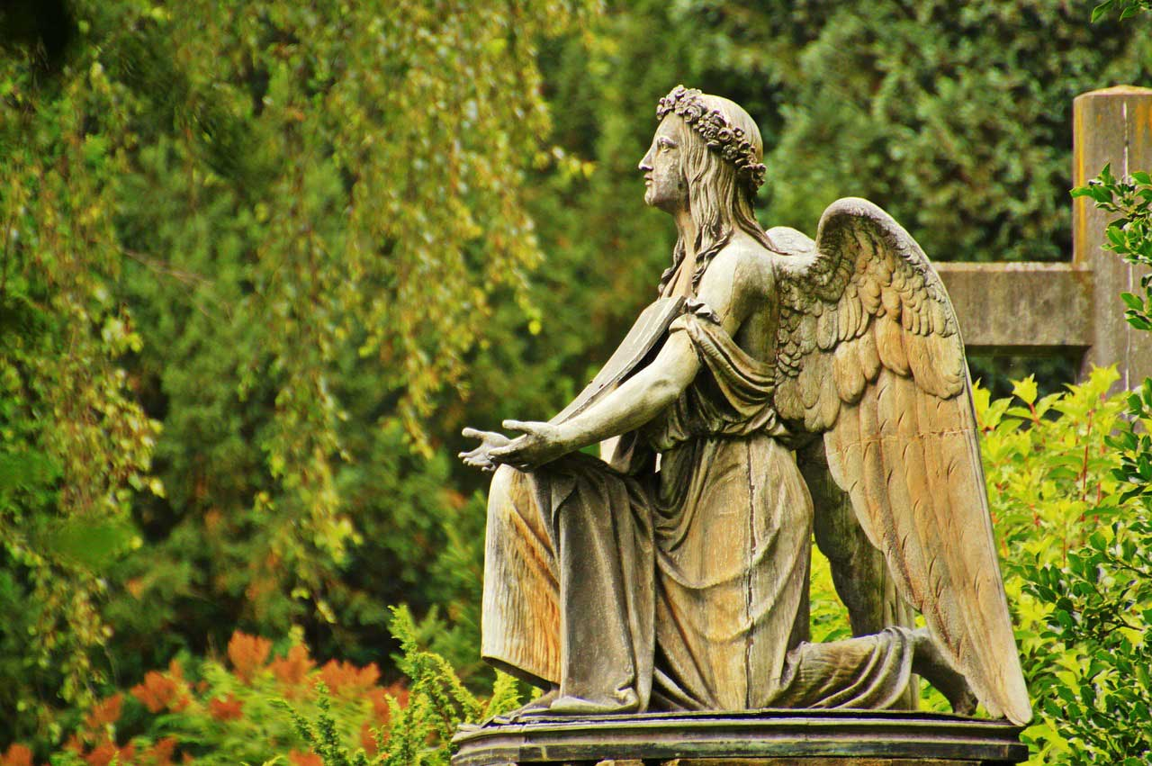 Die Grabanlage, die ewige Erinnerungsstätte