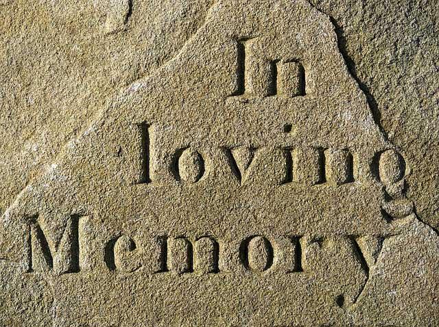 Grabsteinsprüche als letzter dauerhafter Gruß an die Nachwelt.